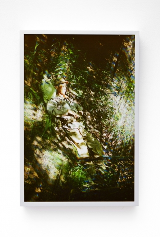 Park Chan-kyong, Child Soldier, 2017-2018. Photo in light box, 32.68 x 22.05 x 2.76 inches (83 x 56 x 7 cm), edition 1/5, 2 AP, Photography, Park Chan-Kyong: Citizen's Forest at Tina Kim Gallery, 2018