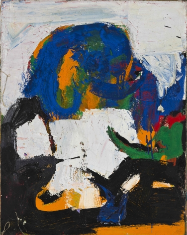 Untitled, Year unknown. Oil on canvas. 22.83 x 17.91 inches (58 x 45.5 cm)