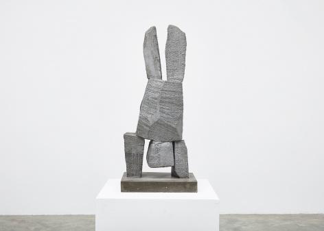 Gimhongsok (b. 1964), Resist - Young, 2018, High-strength grout cement, Sculpture, 37.6 x 15.75 x 11.81 inches, 95.5 x 40 x 30 cm, Edition 1/3, 2AP, Gimhongsok: Dwarf, Dust, Doubt at Tina Kim Gallery