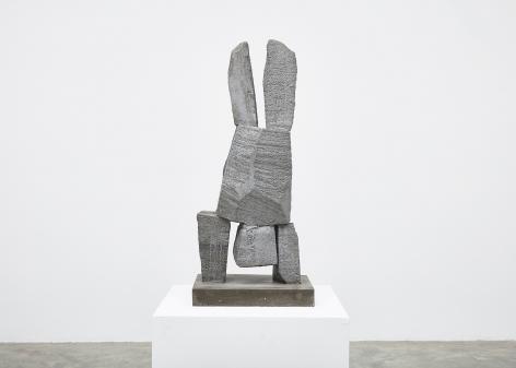 Gimhongsok (b. 1964), Resist - Young, 2018, High-strength grout cement, Sculpture, 37.6 x 15.75 x 11.81 inches, 95.5 x 40 x 30 cm, Edition 1/3, 2AP, Gimhongsok: Dwarf, Dust, Doubt at Tina Kim Gallery