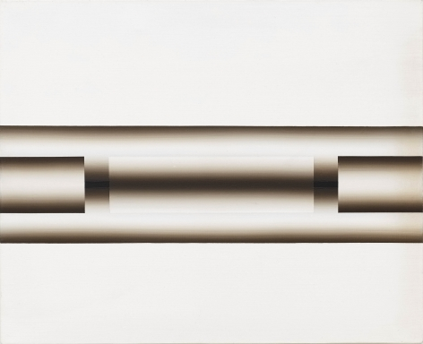Nucleus 73-23 by Lee Seung Jio, 1973, Oil Painting, Exhibition 'Nucleus' at Tina Kim Gallery
