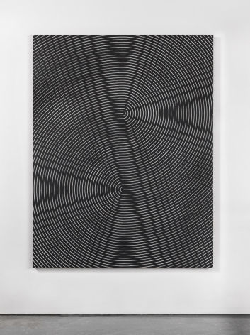 Davide Balliano (b. 1983)  UNTITLED_0052, 2017  Plaster, gesso & varnish on wood   72 x 56 inches