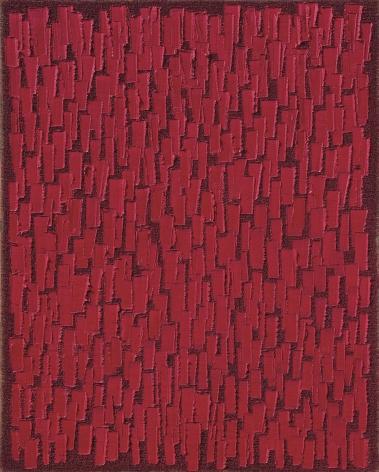 Ha Chong-Hyun, Conjunction 17-25 (2017). Oil on hemp cloth, 162 x 130 cm (63.86 x 51.3 inches), Tina Kim Gallery