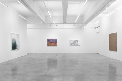 Installation View of Tina Kim Gallery Presents: Art Without Borders. Image by Hyunjung Rhee.