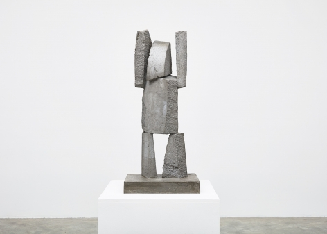 Gimhongsok (b. 1964), Surrender - Jackson, 2018, High-strength grout cement, Sculpture, 37.4 x 15.75 x 11.81 inches, 95 x 40 x 30 cm, Edition 1/3, 2AP, Gimhongsok: Dwarf, Dust, Doubt at Tina Kim Gallery