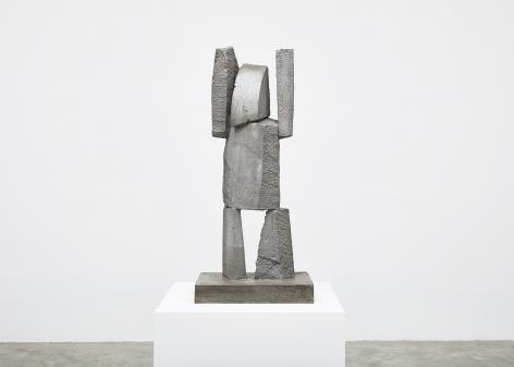 Gimhongsok (b. 1964), Surrender - Jackson, 2018, High-strength grout cement, Sculpture, 37.4 x 15.75 x 11.81 inches, 95 x 40 x 30 cm, Edition 1/3, 2AP, Gimhongsok: Dwarf, Dust, Doubt at Tina Kim Gallery