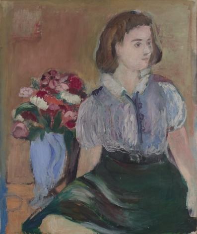 Seated Figure (Imaginary Self-Portrait)