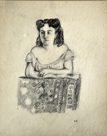 Untitled (Study for Woman in a Photograph)
