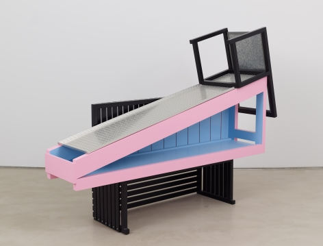 Tomb for Arthur Rimbaud, 2016, Mixed media