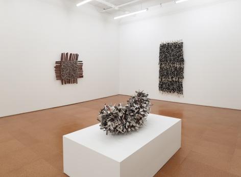 Hassan Sharif, installation view, Alexander Gray Associates, 2014