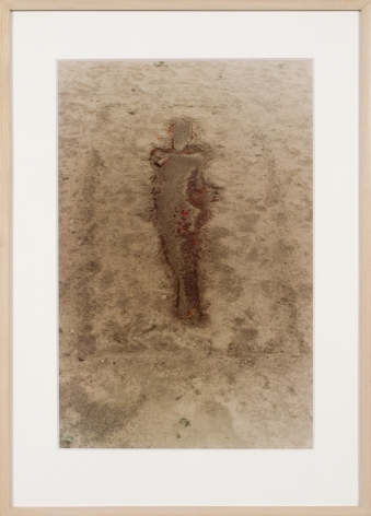 Ana Mendieta, Encantación a Olokún-Yemayá (Incantation to Olokun-Yemaya), 1977, Lifetime color photograph