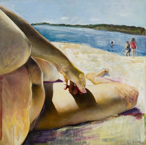 Beachbody (1985) Oil on canvas