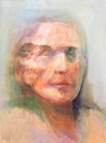 Self-Portrait #2, 2010, Oil On Canvas