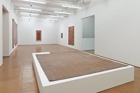 Heidi Bucher Installation view, Alexander Gray Associates (2014)