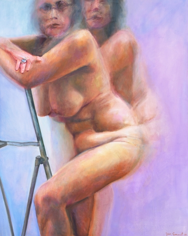 Step-Ladder, 2008, Oil On Canvas