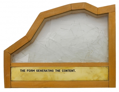 The Form Generating the Content, 1973–1997