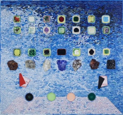 Apps for Obama, 2011, Acrylic on hollow core door
