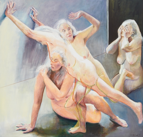 Break-out, 2012, Oil on canvas