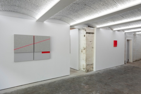 Jennie C. Jones: Passing Tones and Broken Chords, installation view, Alexander Gray Associates, Germantown (2020)