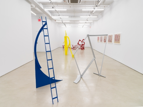 Melvin Edwards: Painted Sculpture, installation view, Alexander Gray Associates, New York, NY (2019)