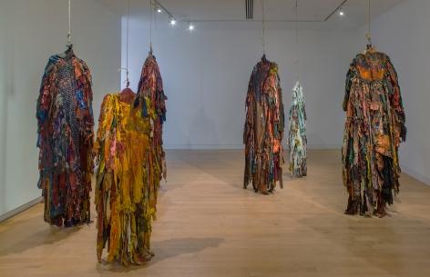 Harmony Hammond: Material Witness, Five Decades of Art,installation view,The Aldrich Contemporary Art Museum, Ridgefield, CT (2019)