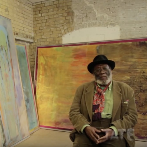 Frank Bowling: From Figuration to Abstraction, Tate (2012)