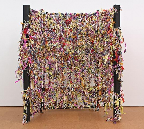 Karen Finley Ribbon Gate (1991)