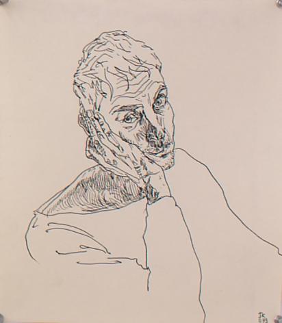 Untitled II, 1993, Marker on paper