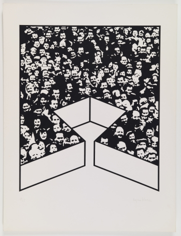 Middle Class & Co.,1971, Part 11 of 15, Silkscreens on paper with front and back cover