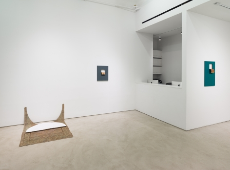 Valeska Soares: Neither Here Nor There, installation view, Alexander Gray Associates (2017)