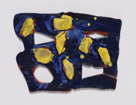 Polly Apfelbaum, Benjamin, 2016, Ceramic and glaze