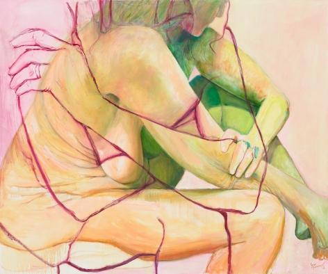 Flesh Ground, 2016, Oil on canvas