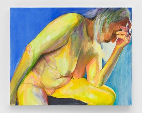 White Hair, 2020, Oil on canvas