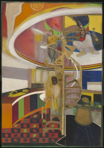 Mirror, 1966 Oil on canvas
