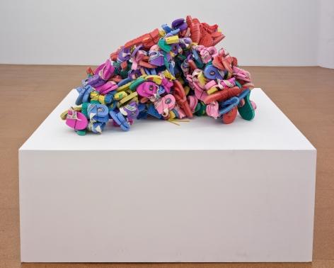 Plastic Sandals, 2008, Mixed Media
