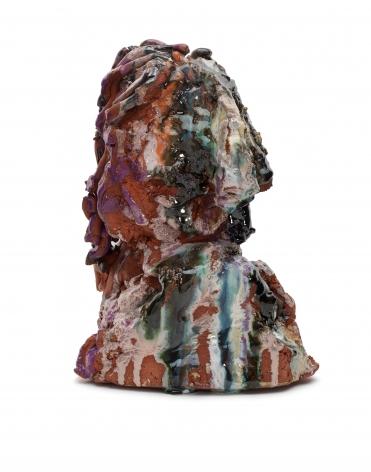 Norbert Prangenberg, Kopf, 2012, Glazed ceramic