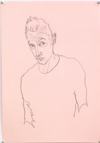 Untitled III (from Black and White Series), 1996, Pencil on paper