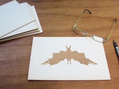Luis Camnitzer; Rorschach Series, Rorschach 5 (2012)