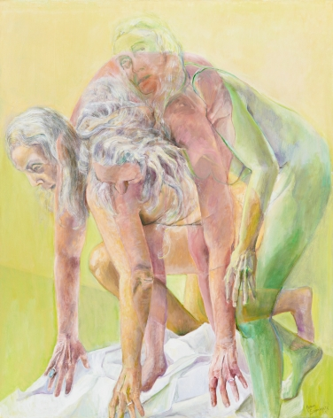 Triple Play, 2011, Oil on canvas