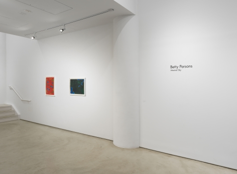Betty Parsons:Heated Sky, Installation view