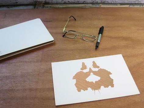 Luis Camnitzer; Rorschach Series, Rorschach 2 (2012)