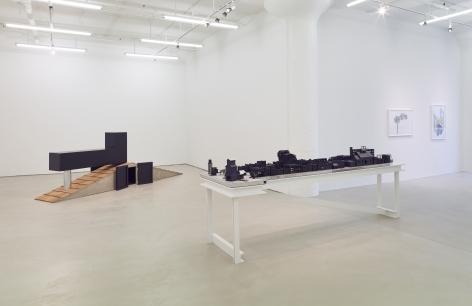 Siah Armajani: The Tomb Series, installation view, Alexander Gray Associates, 2014