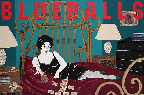 Blueballs: from the Liz Taylor Series (Cat on a Hot Tin Roof)  (2007)