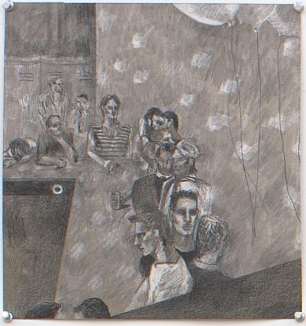 Anvil, 1981, Pencil on paper