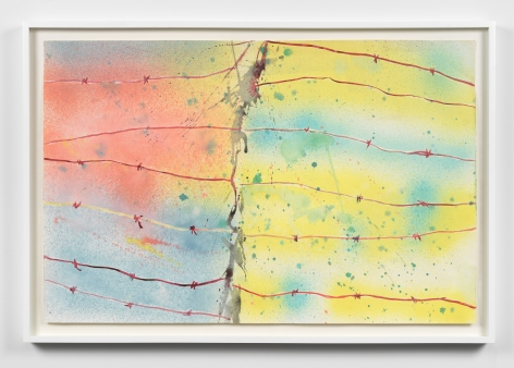 Untitled, c.1974, Watercolor on paper