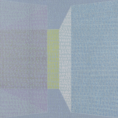 P73 #5, 1973, Oil on canvas