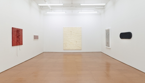 Harmony Hammond, installation view, Alexander Gray Associates, 2013
