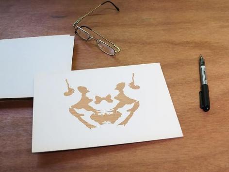 Luis Camnitzer; Rorschach Series, Rorschach 3 (2012)