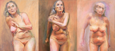 Triptych, 2009, Oil On Canvas