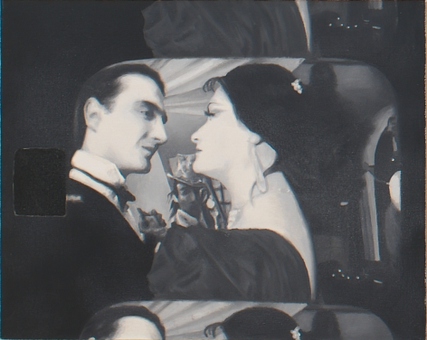 "Untitled (Film Still from ""Diary of Somnambulist""), 2003, Oil on linen"